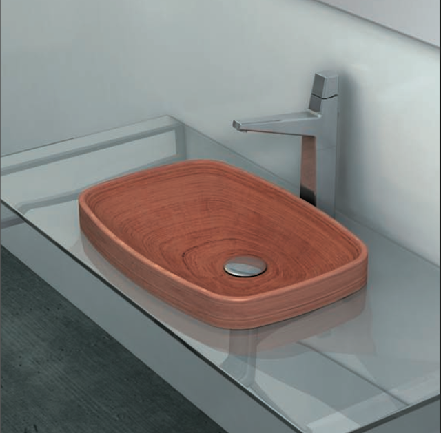 Corian Sinks With Routered Drainboards In Kitchen Showrooms