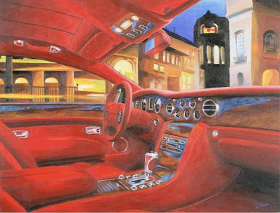 George Bowen, Brooklands Interior Painting