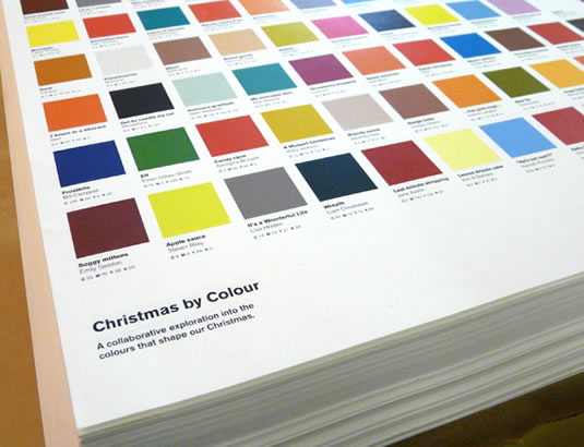 christmas by colour