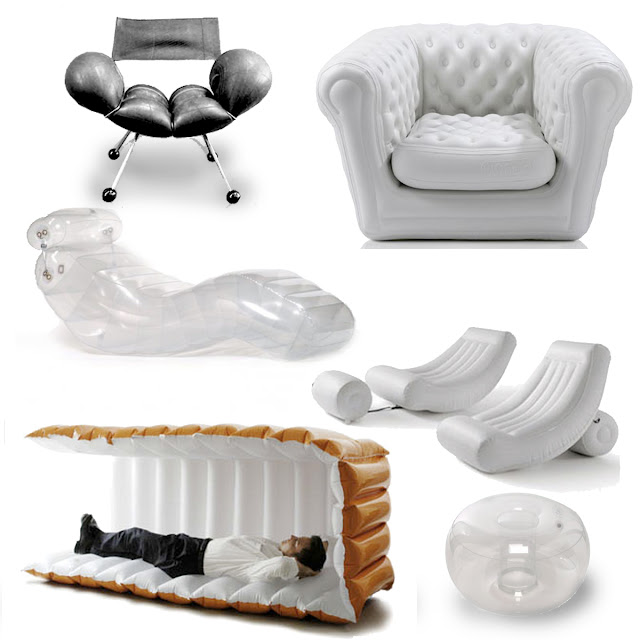 Inflatable Chairs For Adults Chair Covers Manufacturers In Delhi If It S Hip Here Archives Goes Formal Blofield Tastefully Designed Pvc Products Are Becoming More Acceptable As Indoor And Outdoor Furniture