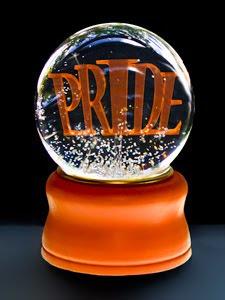 Pride snowglobe