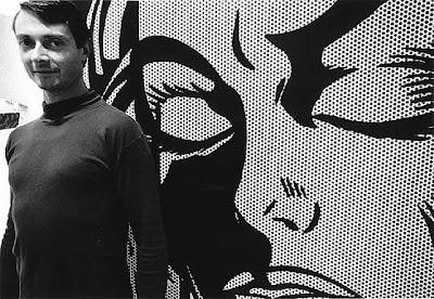 Roy Lichtenstein, 1964, photo by Dennis Hopper