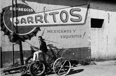 art dealer Robert Fraser in Tijuana, 1965