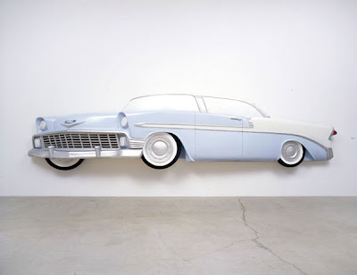 Dennis Hopper, Chevy 3D installation (at the Ace Gallery), 2000