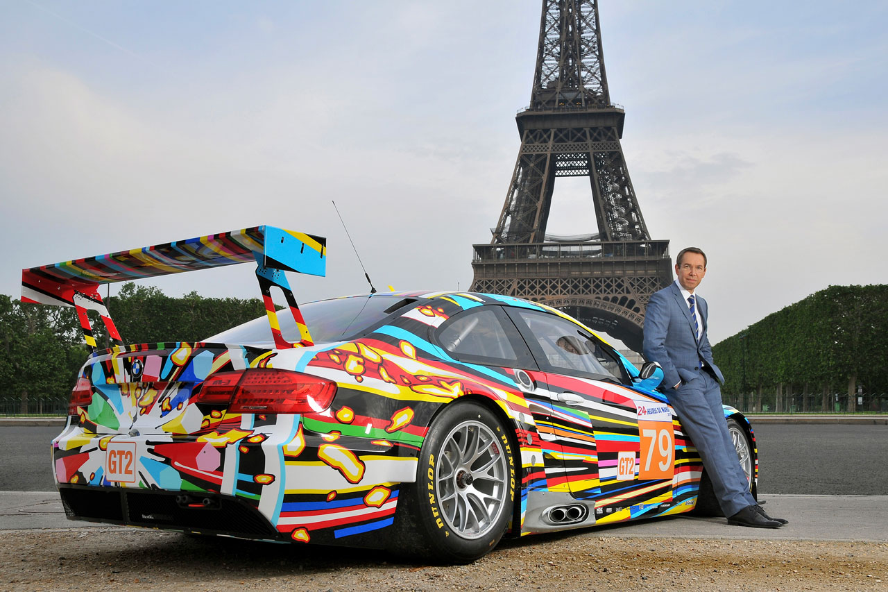 Coloring book by jeff koons - Jeff Koons Bmw Art Car Is Finished And Here It Is