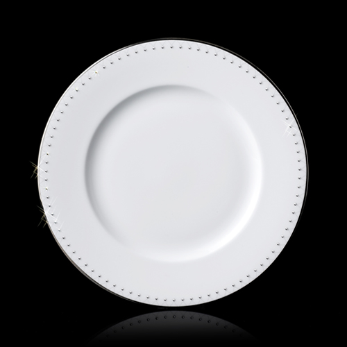princess dinnerware by Prouna Jewels  sc 1 st  If It\u0027s Hip It\u0027s Here & Prouna Jewels Swarovski Clad Luxury Bone China Dinnerware That Is ...