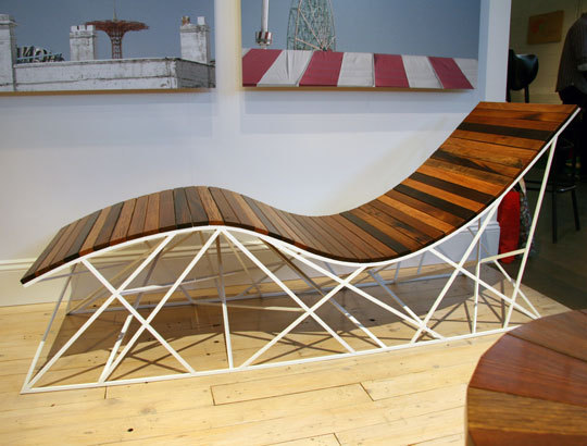 Amusing Reclaimed Wood: The Coney Island Furniture Line By Uhuru