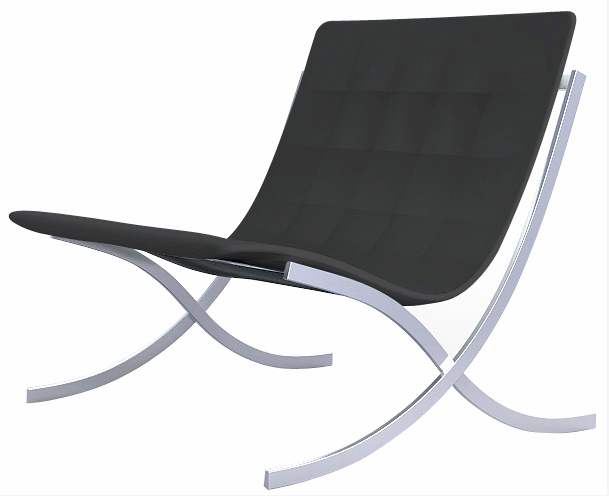 the classic modern chair of which i have always been a fan but have yet ponied up the dough to purchase was originally designed by ludwig mies van der