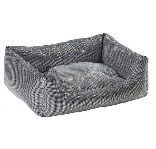 swarovski crystal dog bed