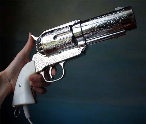 The 357 Magnum hair dryer