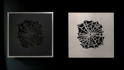 Spider wall mounted fireplaces