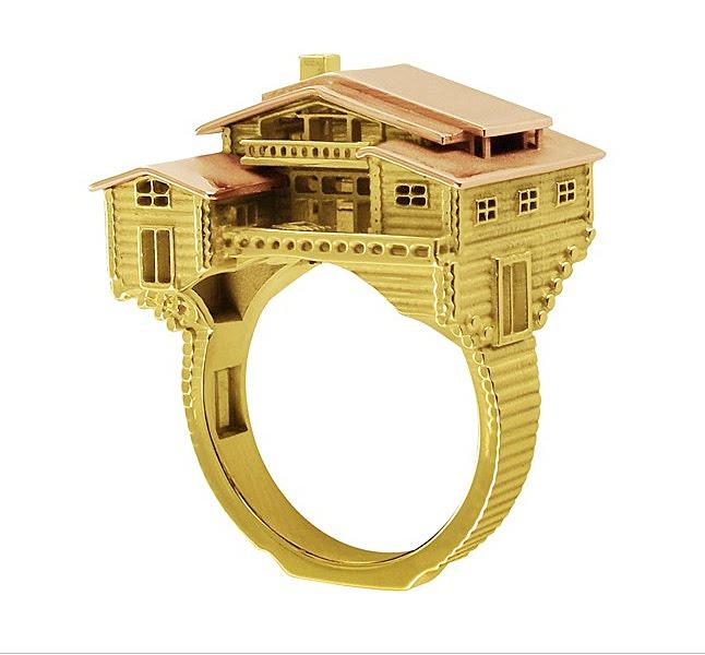 Chapelle Rose Gold Rings