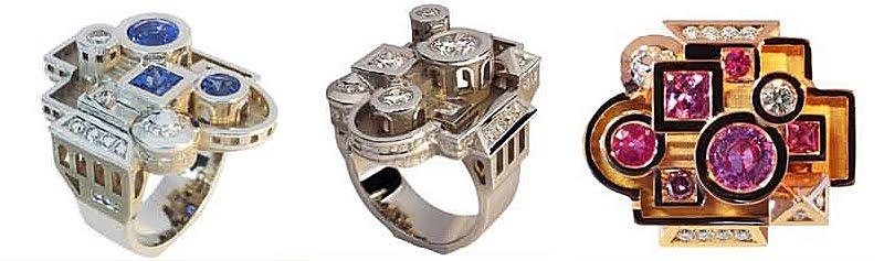 bejewelled rings
