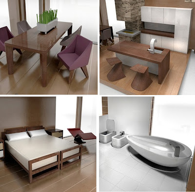Real Modern Furniture For Dollhouses