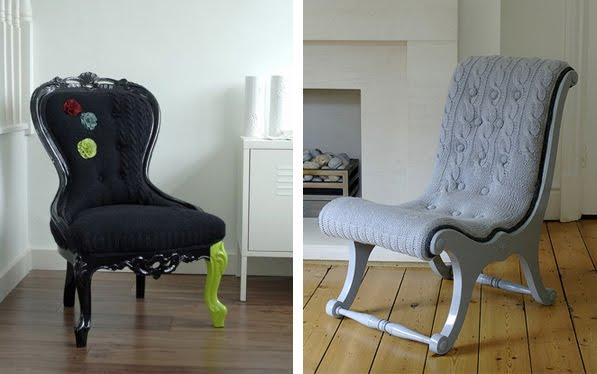 Soul Sanctuary: Sit On Knits! Custom Upholstered Sweater ...