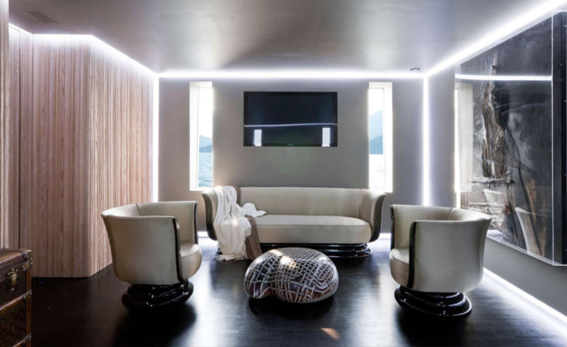 If It's Hip, It's Here (Archives): H2ome Yacht Has A Sleek ...