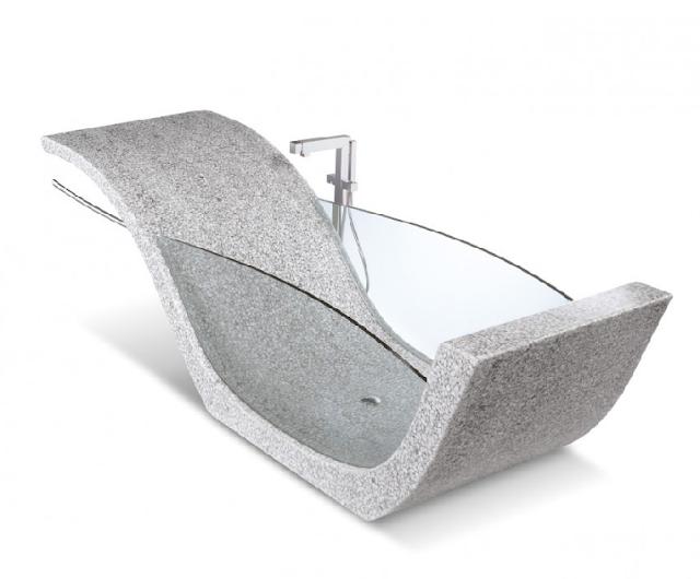 Riverstone Vasca Naturele glass tub