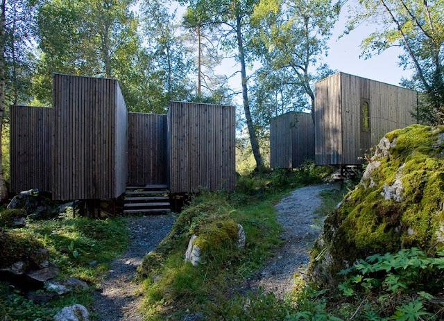 Juvet Landscape Hotel Rooms