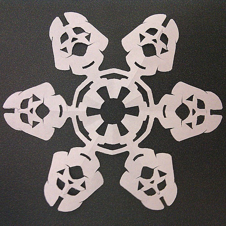 If It's Hip, It's Here (Archives): Star Wars Snowflakes ...
