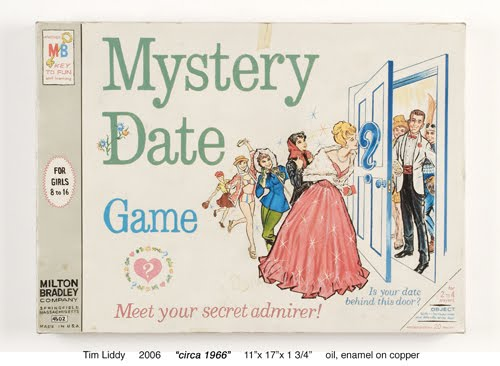 Mystery Date board game painted by Tim Liddy