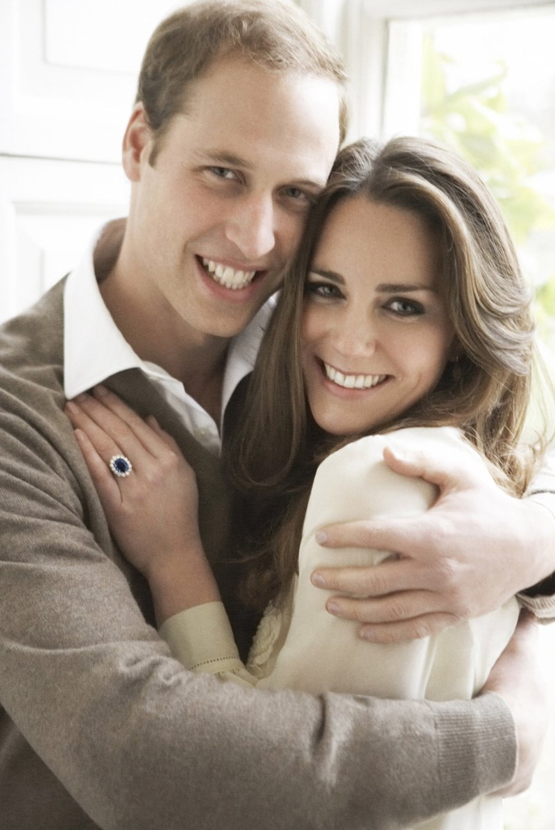 Kate Middleton and HRH Prince William of Wales
