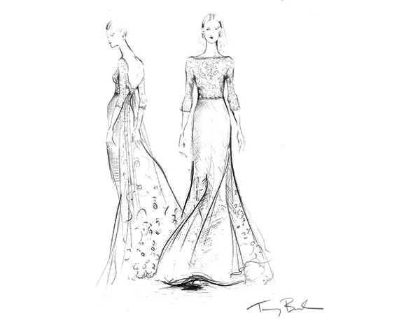 Fashion Sketch Silhouette
