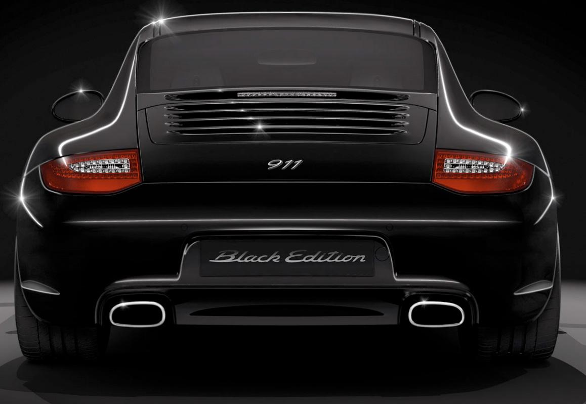 back in black the 2011 porsche 911 black edition - 911 Porsche Black