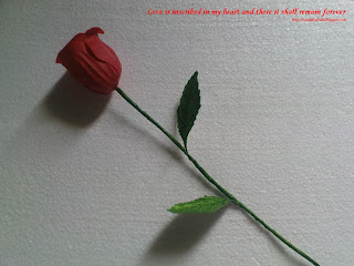 soap flowers | love quotes | Rosidah Abidin