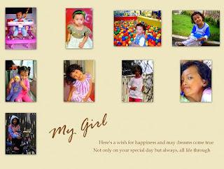 Birthday Collage © 2009-now by Rosidah Abidin