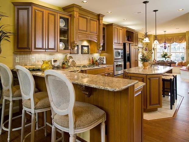Home Design | Interior Decor | Home Furniture ... on Kitchen Model Design  id=82189