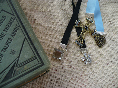 DIY Jewelry bookmarks