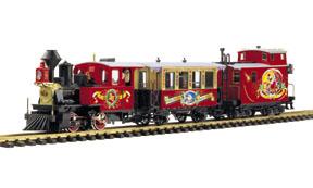 LGB 29000 Golden Spike engine set, exclusive TRAINLI edition  |Lgb Engine Cow