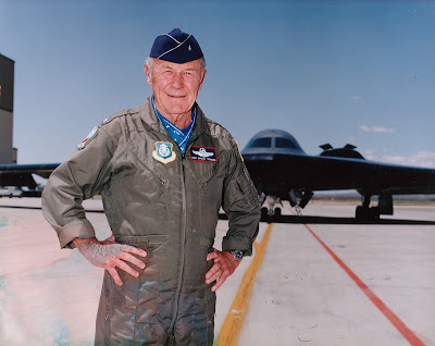 Brig. Gen. Chuck Yeager, recipient of the Congressional Silver Medal of Honor.  MedalofHonor.com