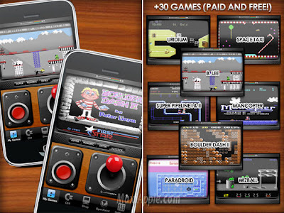 Commodore 64 Emulator with Games for iPhone iPod Touch and