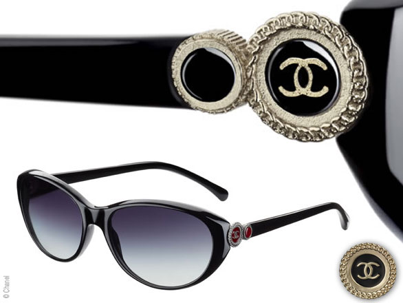 fc3be540f767a2 Lunettes Chanel Bouton Hiver 2010 2011 - MaxiTendance