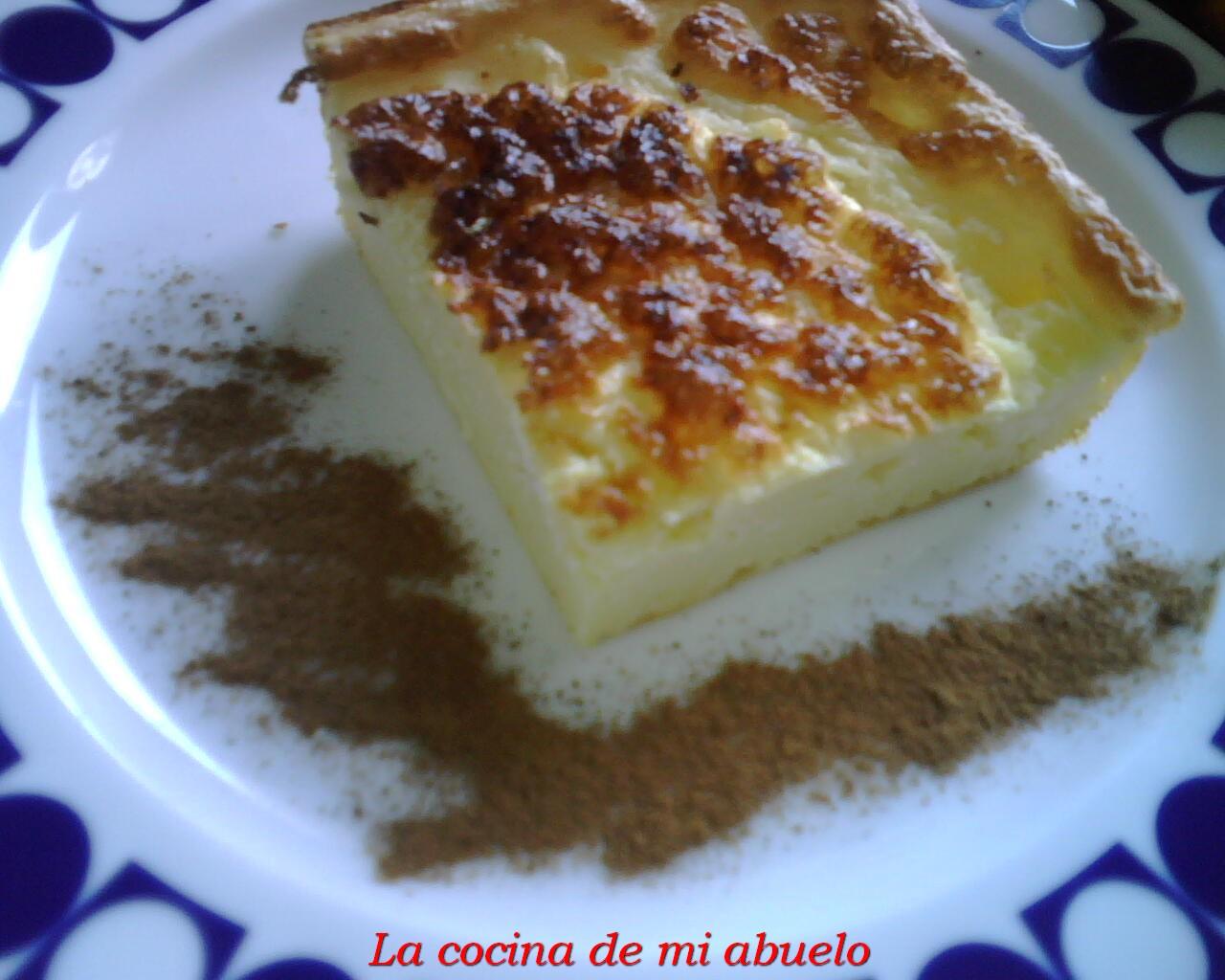Tarta de quesococo light