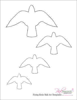 flying bird template printable flying bird template printable