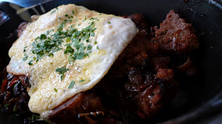 meatloaf hash and eggs