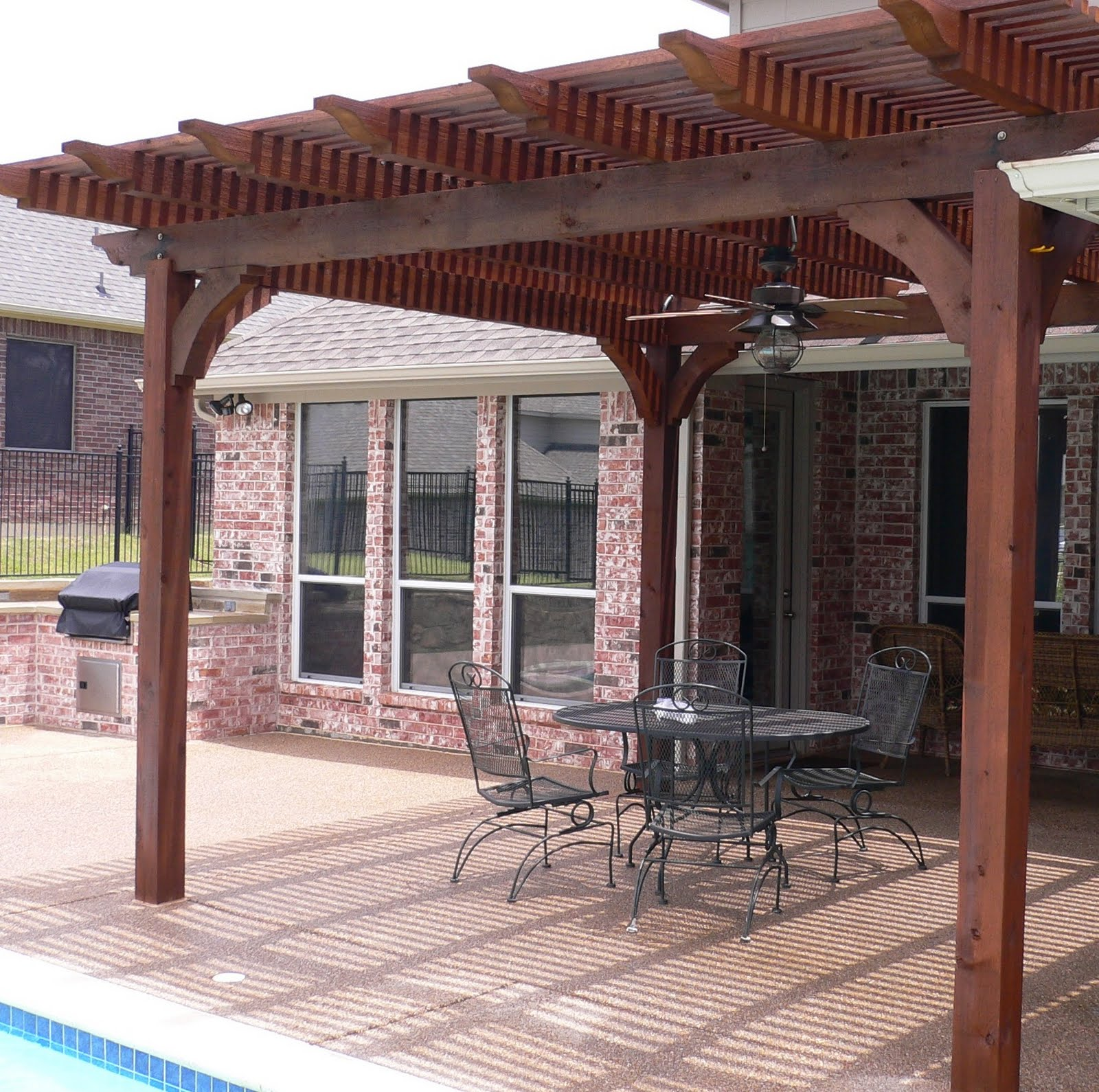 patio roof designs: Liven Up Your Patio - Wooden Patio Covers on Backyard Patio Cover Ideas  id=63533