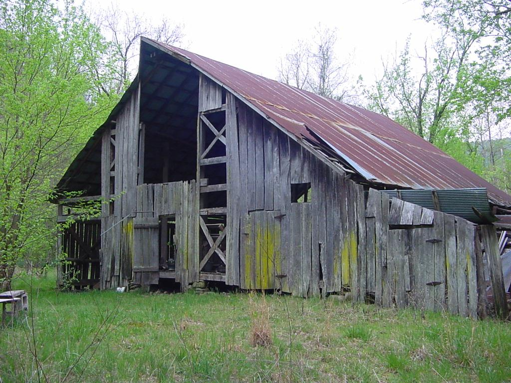 Mountain Springs Notebook: Old Barns, Old Times