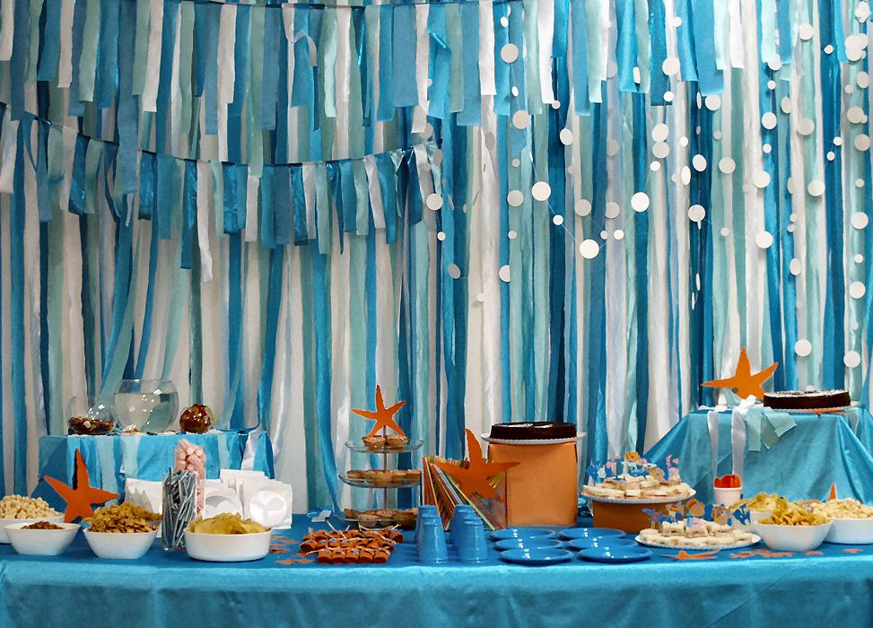Birthday Parties, Theme Parties, Sea Birthday, Ocean