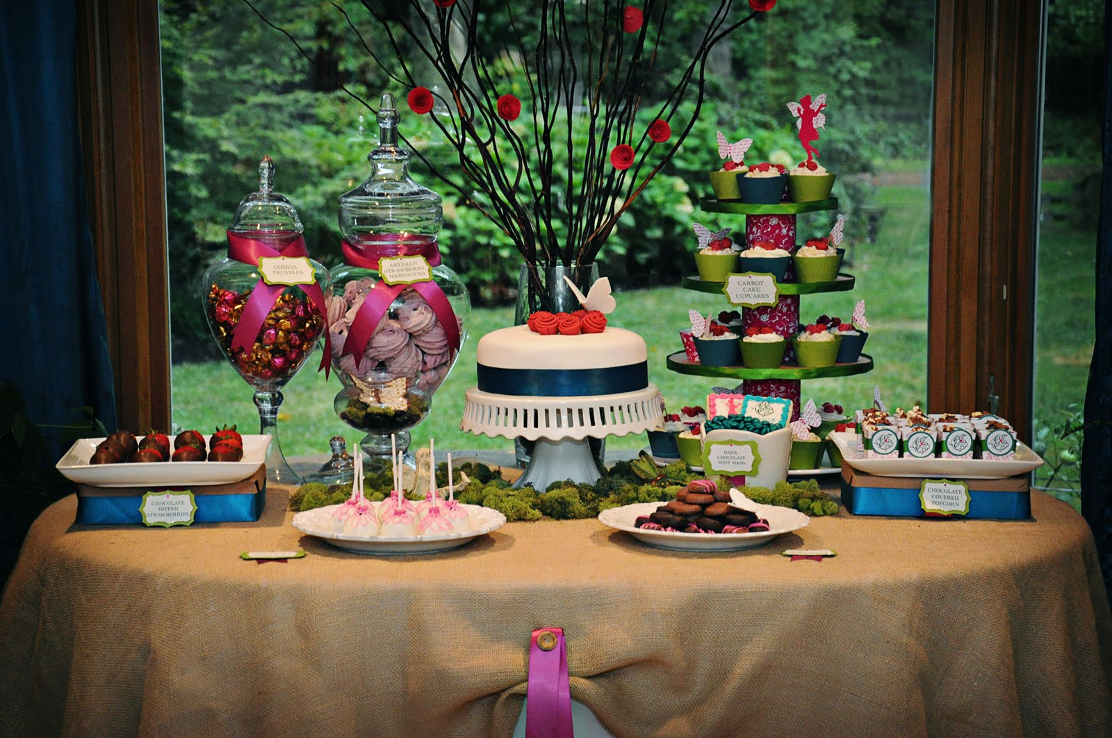 An Adult Garden Fairy Birthday Celebrations At Home