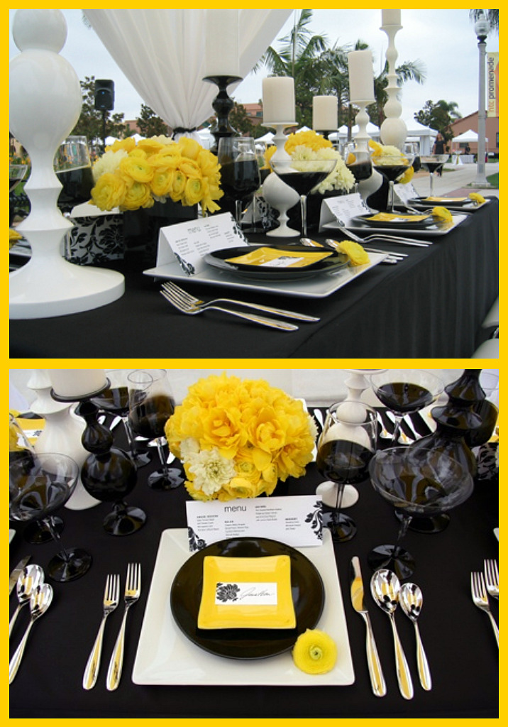 Every time i see this color combination i love it more and more the beautiful table above by bliss events serves as inspiration for your own milestone