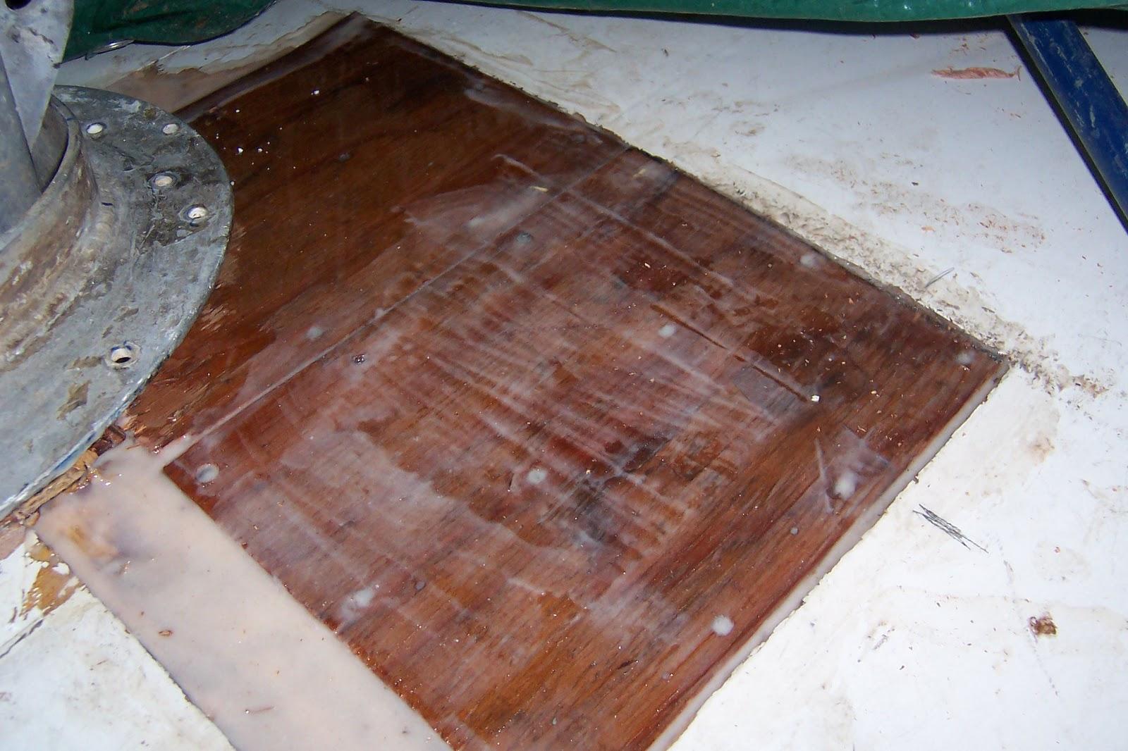 Blackheart Peterson 35 Sailboat Project Cabin Roof Rot Repair