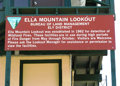 lookout sign