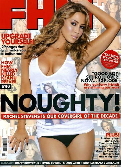 rachel stevens topless in fhm