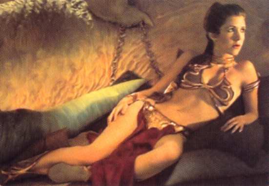 Can Princess leia gold bikini picture think
