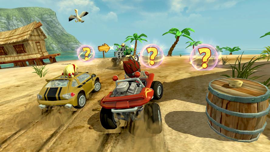 beach buggy racing apk mod