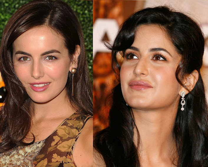 Camilla Belle and Katrina Kaif