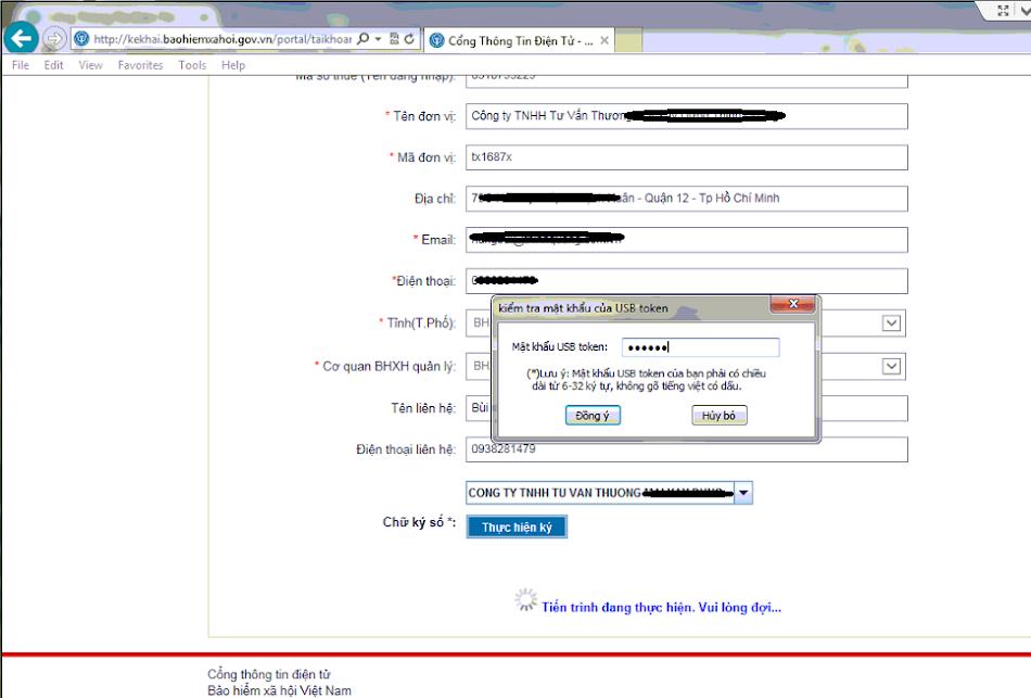 Hướng dẫn đăng ký kê khai bảo hiểm xã hội online
